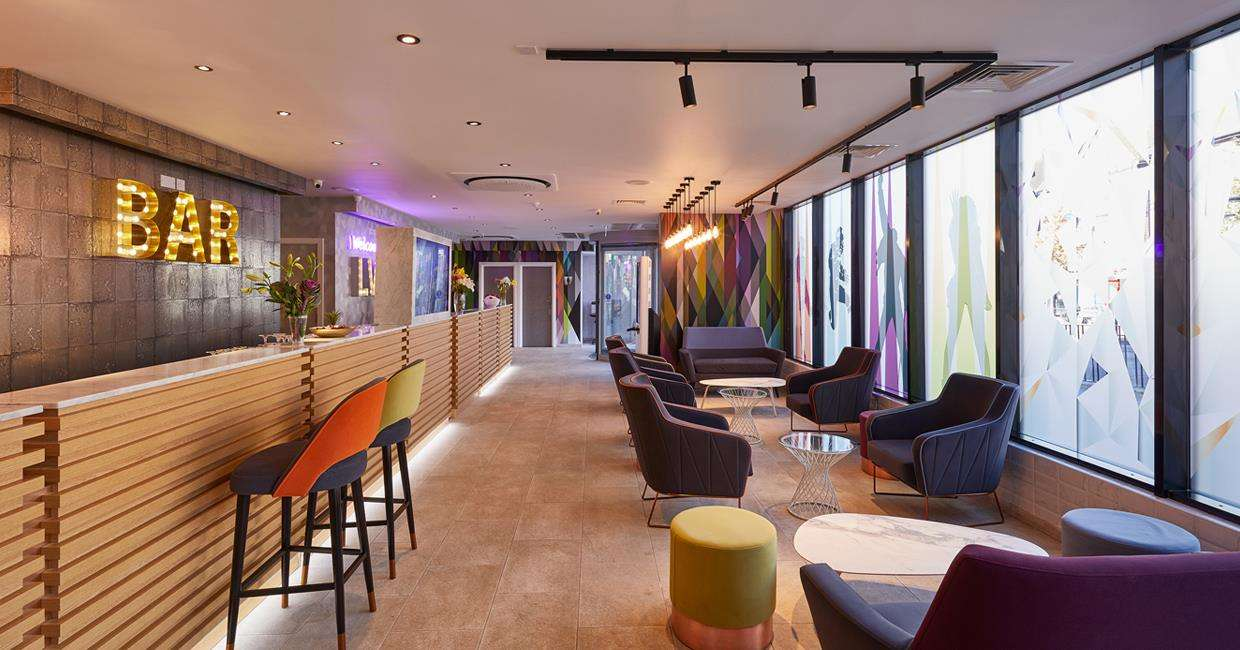 Bar and social space at the Wembley Hotel from LHG,