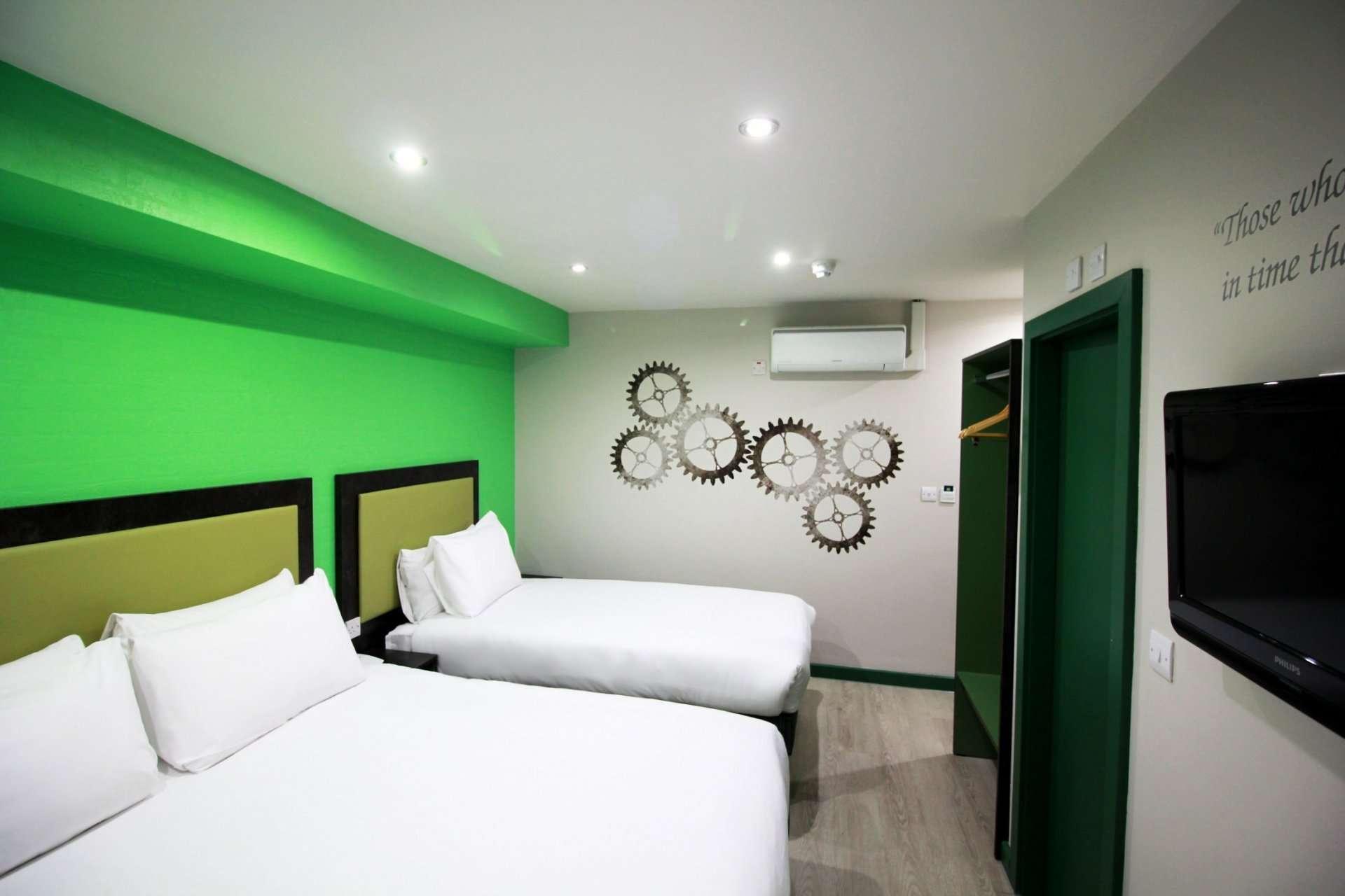Twin double room in Peckham, London Best Western Hotel