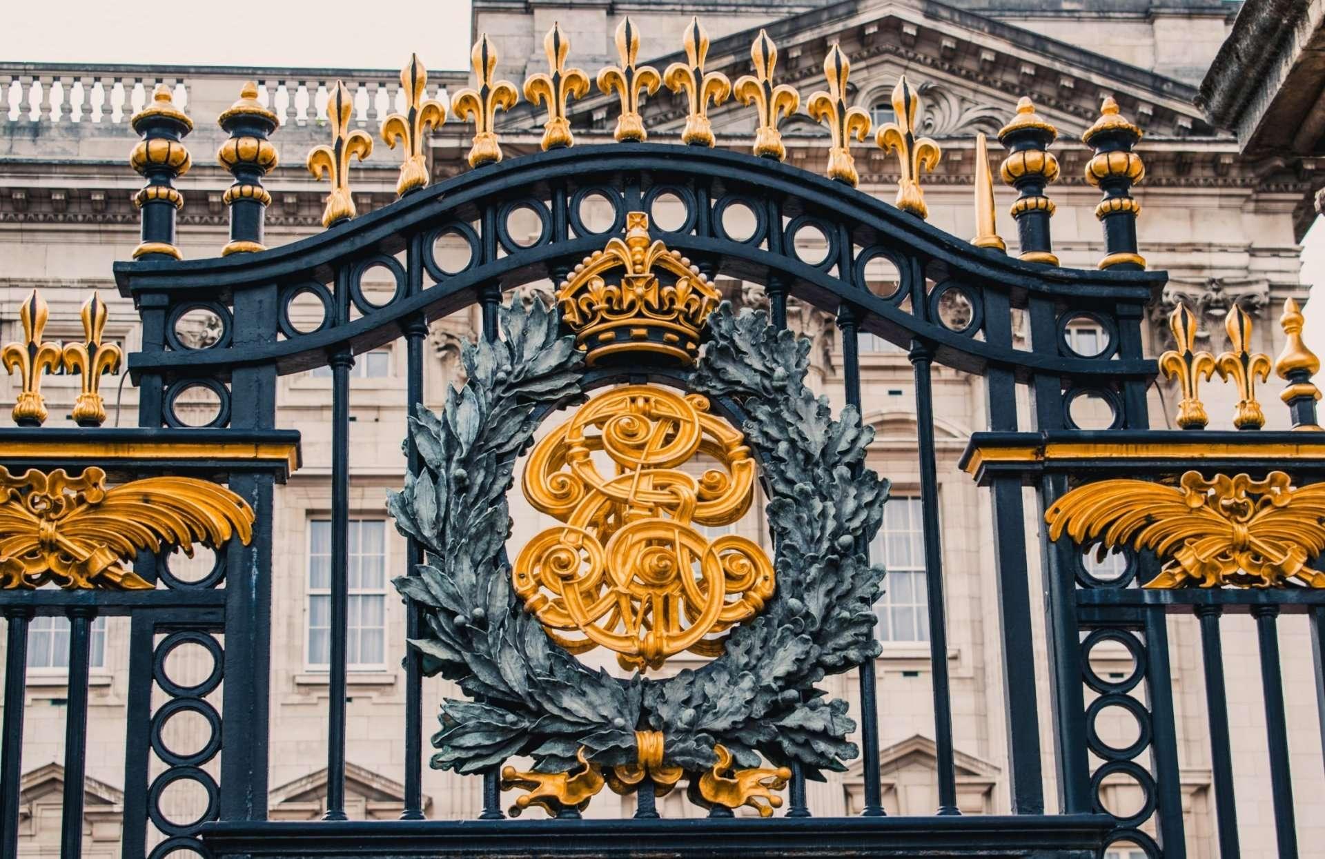 architecture of the Buckingham Palace Gates